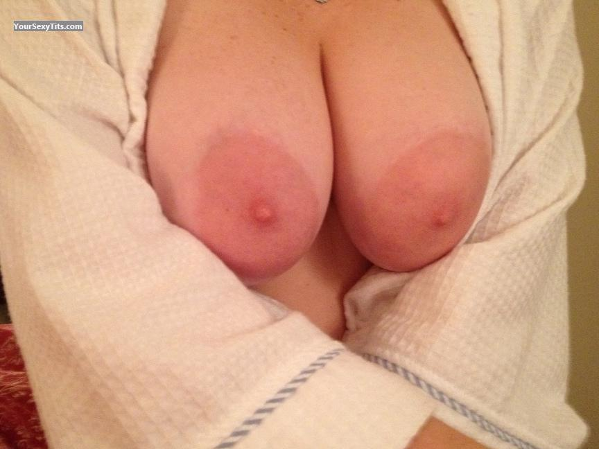 Tit Flash: My Very Big Tits - Juggy from United States